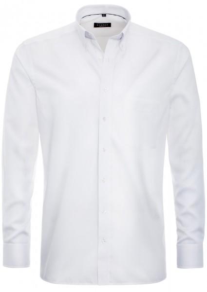 Eterna Hemd weiss mit Button-Down-Kragen