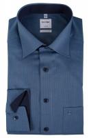 OLYMP Comfort Fit Hemd 69 cm EXTRA LANG blau