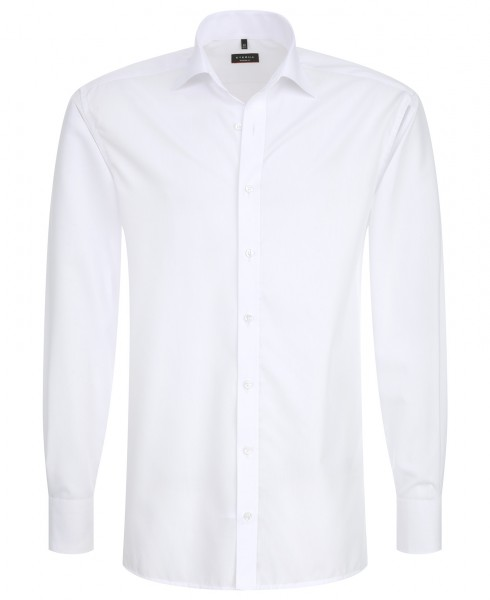 Eterna Langarmhemd weiß wit 68