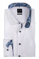 OLYMP Modern Fit Hemd 72 cm SUPER LANG weiß