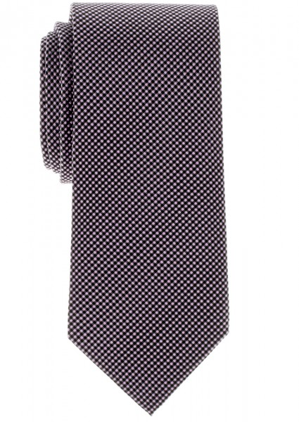 ETERNA Krawatte mit Überlänge rosa grau