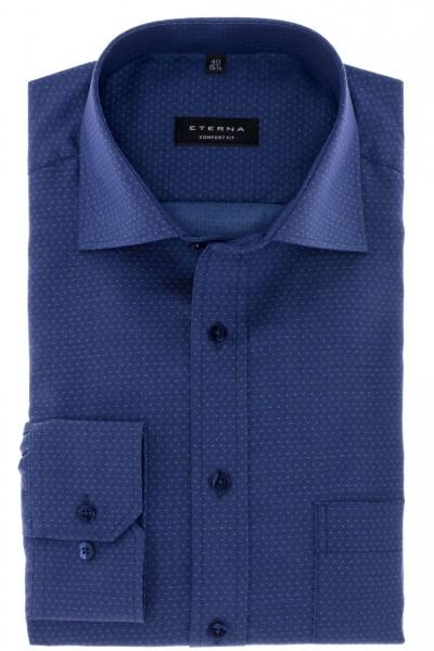 ETERNA Comfort Fit 72 cm kobaltblau mit Tupfen