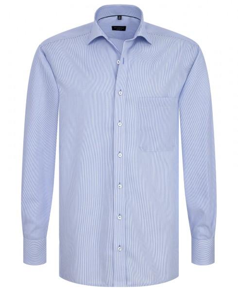 Eterna Hemd Comfort Fit 72cm Cotelé blau gestreift