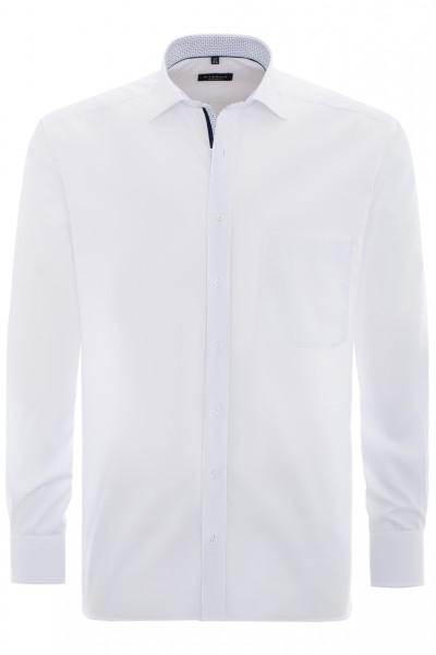 Eterna Comfort Fit 72cm Langarmhemd weiß