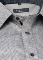 ETERNA Hemd Comfort 68 cm Extra Langer Arm grau