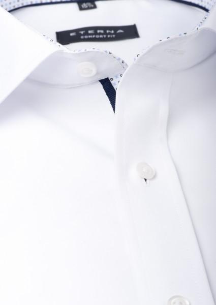 Eterna Hemd Comfort Fit 68cm Extra Lang weiß