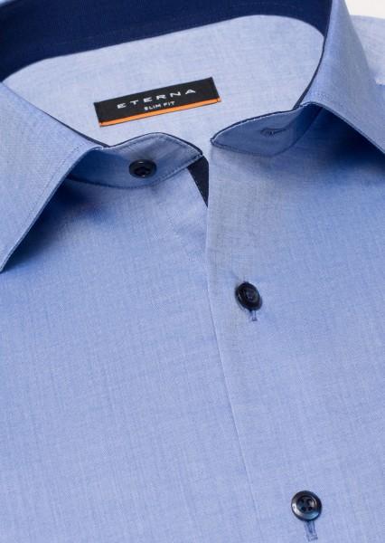 Eterna Slim Fit Hemden in Farbe Himmelblau Kragenweite 38 bis 44