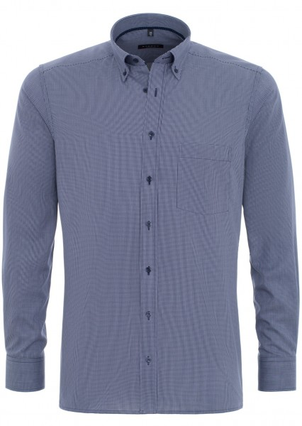 Eterna Modern Fit 72cm Button-Down dunkelblau