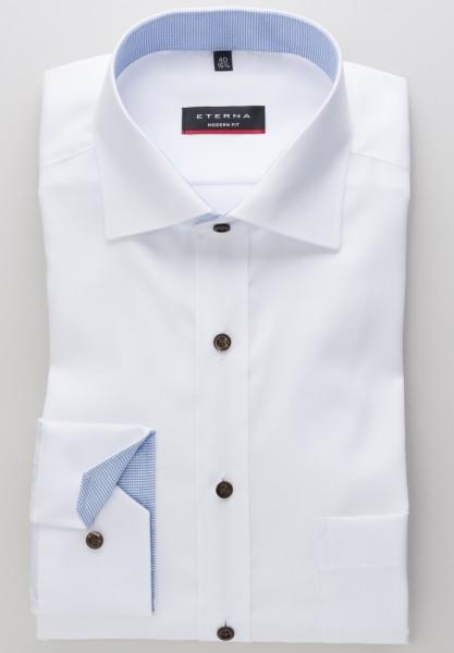 Eterna Modern Fit 72cm Super Lang weiß-braun