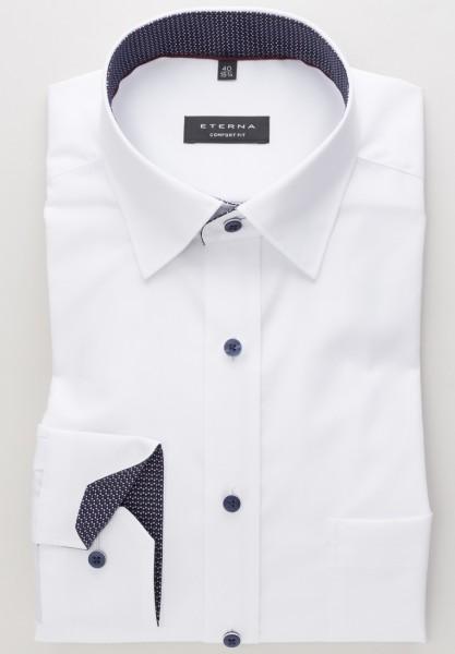 Eterna Hemd Comfort Fit 72cm Super Lang weiß