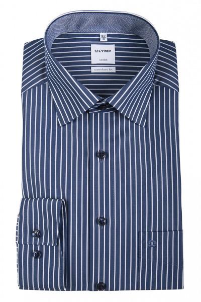 OLYMP Comfort Fit Hemd gestreift 69 cm EXTRA LANG