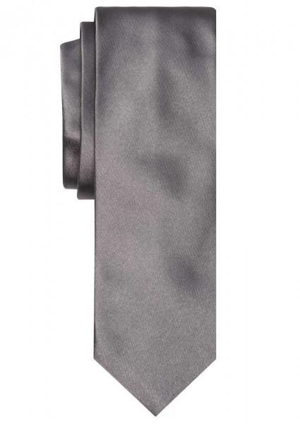 ALTEA Uni Krawatte Extra Lang silbergrau