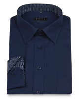 ETERNA Comfort Fit Shirt 72 cm Superlang marine