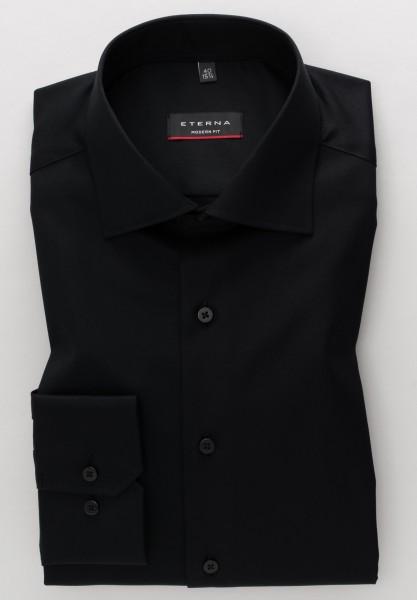 ETERNA Hemd Modern Fit COVER SHIRT schwarz
