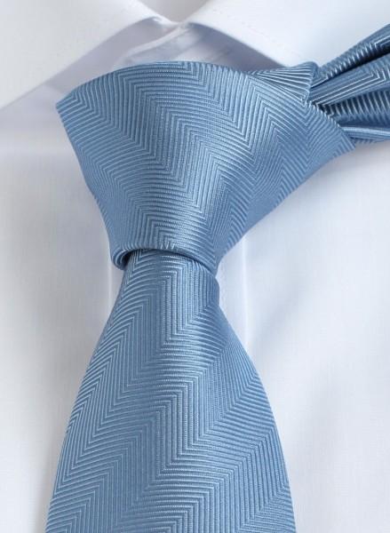 ALTEA Uni Krawatte Reine Seide hellblau