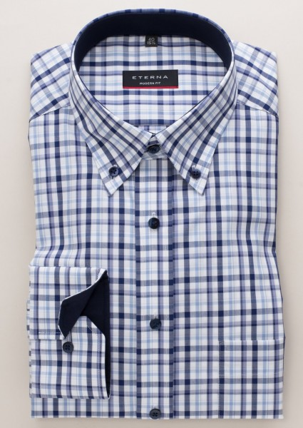 Eterna Hemd Modern Fit 68 cm mit Button-Down