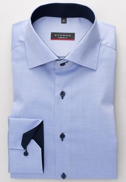 ETERNA Modern Fit Hemd mit PATCH mittelbau