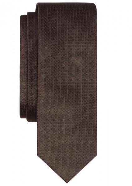 ETERNA Krawatte Extra Lang dunkelbraun
