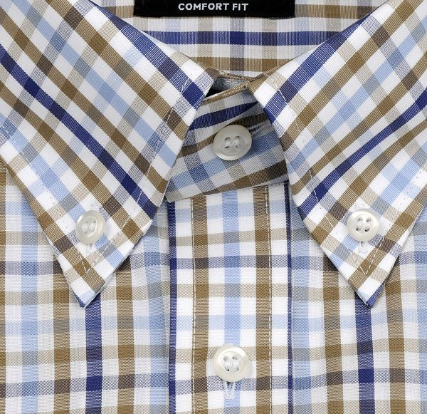 Eterna Hemd Button-Down-Kragen Extralang 68