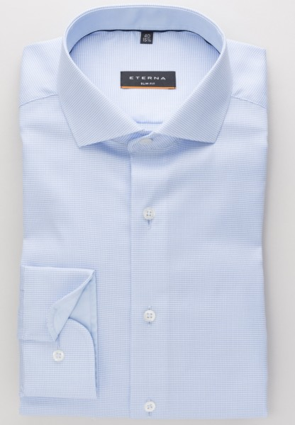 Eterna 72 Slim Fit Hemd mit figurbetonter Passform
