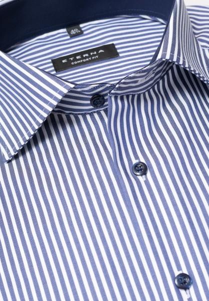 Eterna Comfort Fit 68cm Extra Lang blau-weiß