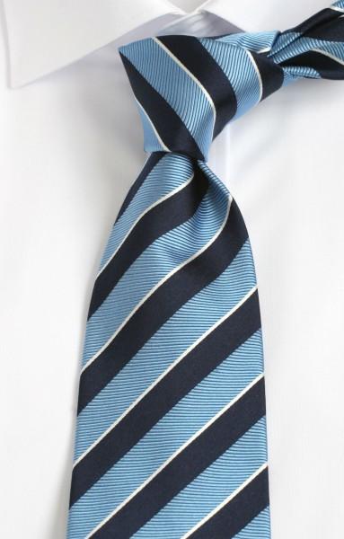 Altea Krawatte blau gestreift