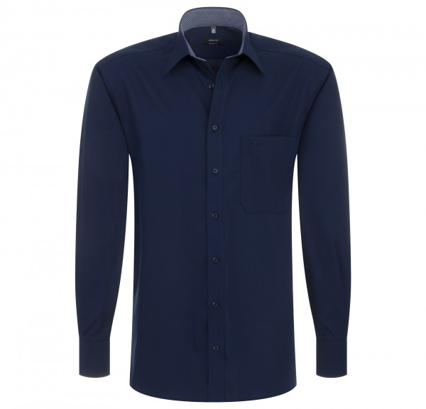 eterna hemd dunkelblau
