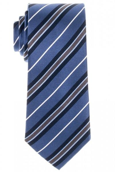 Eterna Krawatte blau gestreift