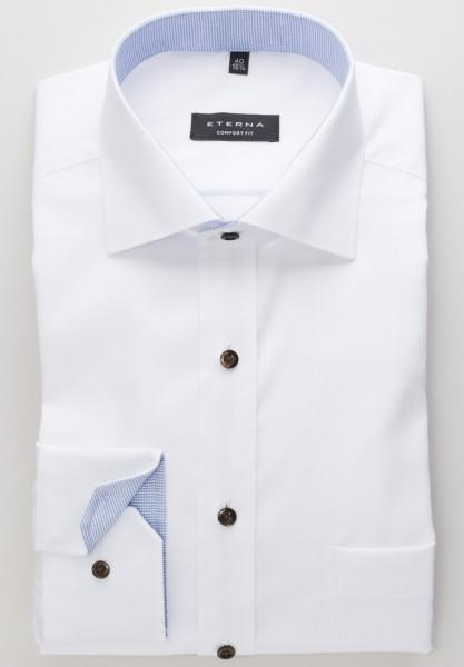 ETERNA Comfort Fit 72 cm Super Lang weiß mit braun