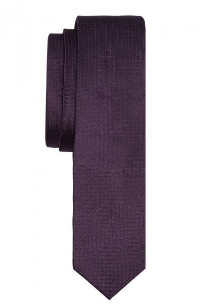 ETERNA Uni Krawatte Reine Seide lila