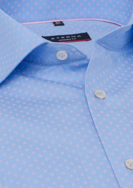 Eterna Modern Fit 72cm Super Lang blau-rosa